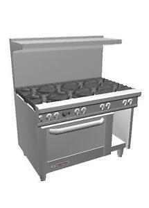Southbend S48dc 48 S series Range W 8 Burners Standard Oven