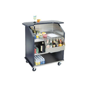 Lakeside 76884 43 3 8 wx27 1 2 dx46 1 2 h Portable Bar W Ice Bin