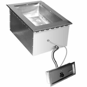Eagle Group Sgdi 1 240t6 Drop in Wet Or Dry Type Hot Food Well Unit 240v
