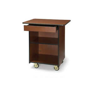 Lakeside 66107 25 1 2 dx33 1 2 wx36 3 4 h Enclosed Compact Service Cart
