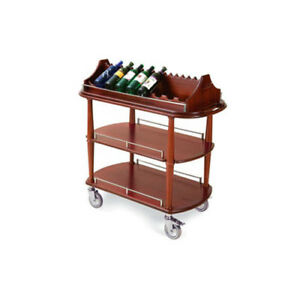 Lakeside 70516 21 5 8 dx43 3 8 wx41 3 8 h Spice Wine Cart