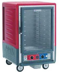 Metro C535 cfc l 1 2 Mobile Holding proofing Cabinet Lip Load W Clear Door