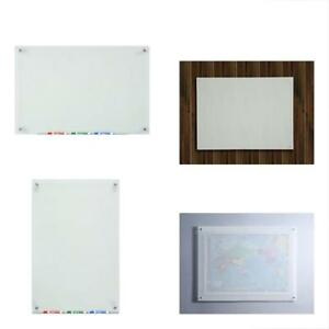 Dry Erase Boards Frosted Glass Dry erase 23 5 8 35 1 2 Includes And Aluminum