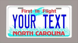 North Carolina Custom Novelty License Plate Your Name Or Text 6 X12