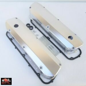 Small Block Ford Fabricated Satin Aluminum Valve Covers Sbf 289 302 351w Gaskets