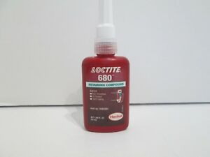 Loctite 1835201 Green 680 Retaining Compound 50 Ml 1 69 Oz Expiration 11 19