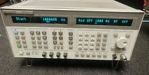 Hp Agilent 8664a 0 1 3 Ghz Sythesized Signal Generator Opt 008
