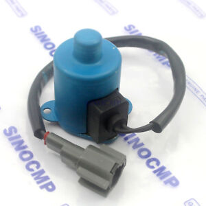 Hydraulic Pump Solenoid Valve 0640202 For Hitachi Excavator Solenoid Parts