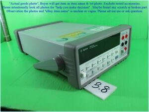 Agilent 34401a 6 Digital Multimeter As Photo Sn 0723 Without Calibration