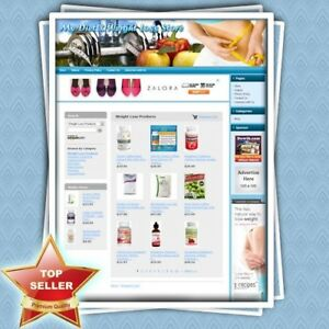 Diet And Weight Loss Store Premium Turnkey Website Online Business For Sale