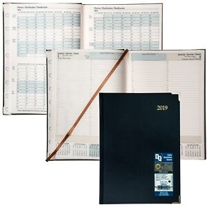 2019 Brownline Cbe514 Executive Daily Planner Hardcover 10 3 4 X 7 3 4