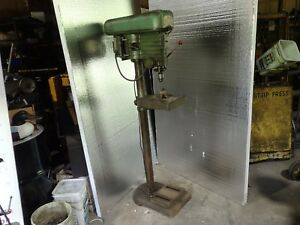 Powermatic 15 5 speed Floor Drill Press 1 2 Jacobs Chuck Good 1 3hp 115v Motor