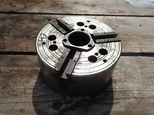 Matsumoto Z 8 52 b 8 Universal Power Lathe Chuck 4800 Rpm Sold As is