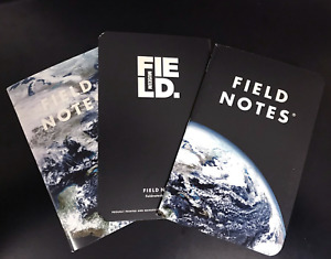Field Notes Earth Field Museum Note Books Sealed 3 Pack Limited Edition
