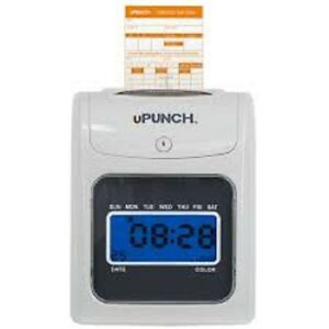 New Upunch Hn4000 Time Card Machine Electronic Calculating Punch Date Clock