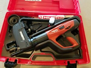 New Hilti Dx 460 Powder Actuated Tool With F8 Nose And Mx 72 Nose