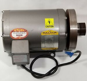 Baldor Industrial Electric Motor 200v 2hp 1740rpm 3 Phase Treadmill Replacement