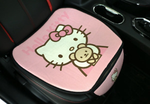 Hello Kitty Car Seat Covers Cotton Line Cute Pink Front Seat Cover 1pcs