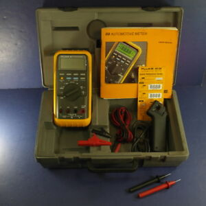 Fluke 88 Automotive Meter Very Good Condition See Details