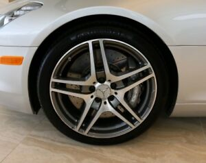 4 Genuine Mercedes Sls Wheels Tires Rims Sls63 Oem Factory