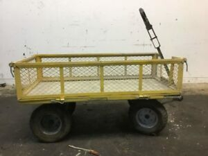 Industrial Mesh Wagon Cart Qty 2