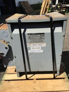 Square D Single 25 Kva 240x480 120x240 Single Phase Insultated Transformer 25s