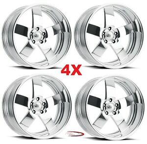 20 Pro Wheels Mag Staggered Wheels Billet Forged Intro Boyd Chevy Ford Custom