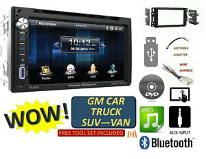 2006 2015 Chevrolet Gmc Silverado Sierra Savana Cd Dvd Usb Bluetooth Car Stereo