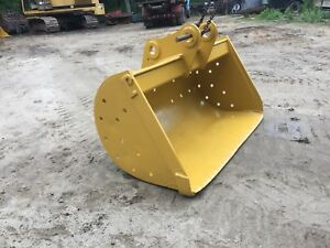 72 Caterpillar Cat 225 Excavator Grading Bucket Free Ship W 25 Miles Only
