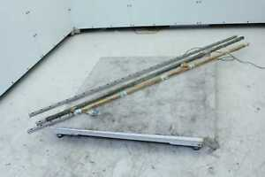 Lot Of 3 94 Linear Guide Rails Linear Motion