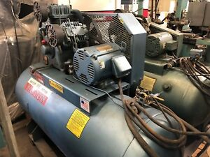 Falcon 7 5 Hp Horizontal Air Compressor Model Hta100