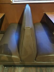Double Sided Booth Seat Restaurant Use Damaged