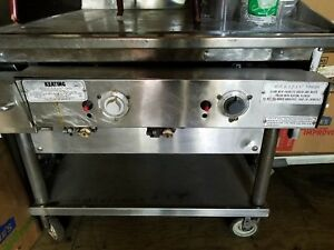 Flat Top Grill Restaurant Use Keaton Miraclean 36 In