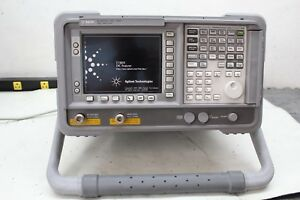Agilent E7401a 9 Khz To 1 5 Ghz Emc Analyzer Tracking Generator Loaded W Opts