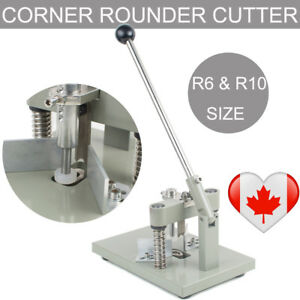 Manual Paper Corner Rounder Cutter R6 R10 Craft Trimmer All Steel Large Punch