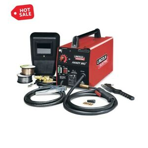 Lincoln Welder Mig Welding Machine 88a 115v Electric Portable Kit Accessories