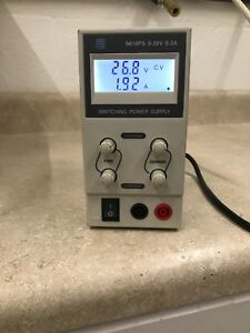 30v 5a Dc Power Supply Adjustable Variable Dual Digital Lab Test