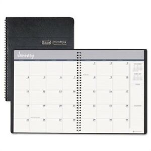 Ruled Monthly Planner 14 month Dec jan 6 7 8 X 8 3 4 Black 15 17 2 Pack