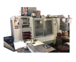 Haas Vf4 Used Cnc Vertical Machining Center
