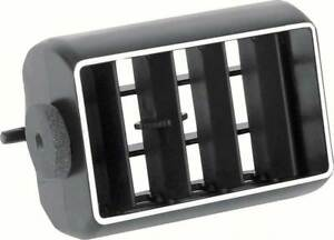 79 81 Camaro Z28 Center Dash Vent Insert W A c Black Chrome El Camino