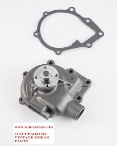 1946 Chrysler Straight Eight Brand New Water Pump No Cores Needed 323 T