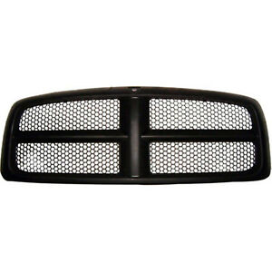 Front Grille Fits 2005 2005 Dodge Ram 1500 5jf051spac