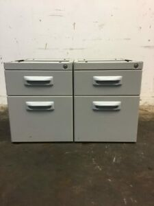 2 Drawer Storage Filing Cabinet