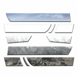 Auto Reflections Rocker Panels Fit For 2005 18 Nissan Frontier Crew 10p 6 1 4
