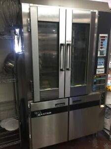 Baxter Rack Oven Model Ov300e With Hpc800 Proofer price Temporarily Reduced