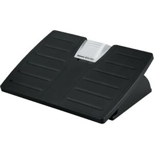 New Fellowes 8035001 Office Suites trade Adjustable Footrest With Microban reg