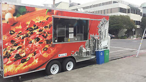 2011 20 X 10 Beautiful Pizza Trailer Rolling Bakery Spotless