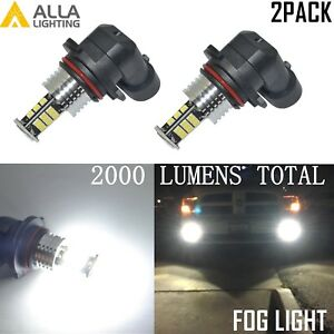 Allalighting Led 9145 Driving Fog Light Bulb Lamp 6000k Bright White Replacement