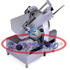 12 110v Table Automatic Commercial Slicer Planer Fattening Machine 250w New
