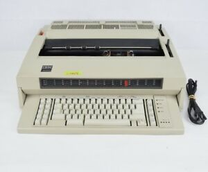 Ibm Wheelwriter 5 Type 5441 Electric Typewriter